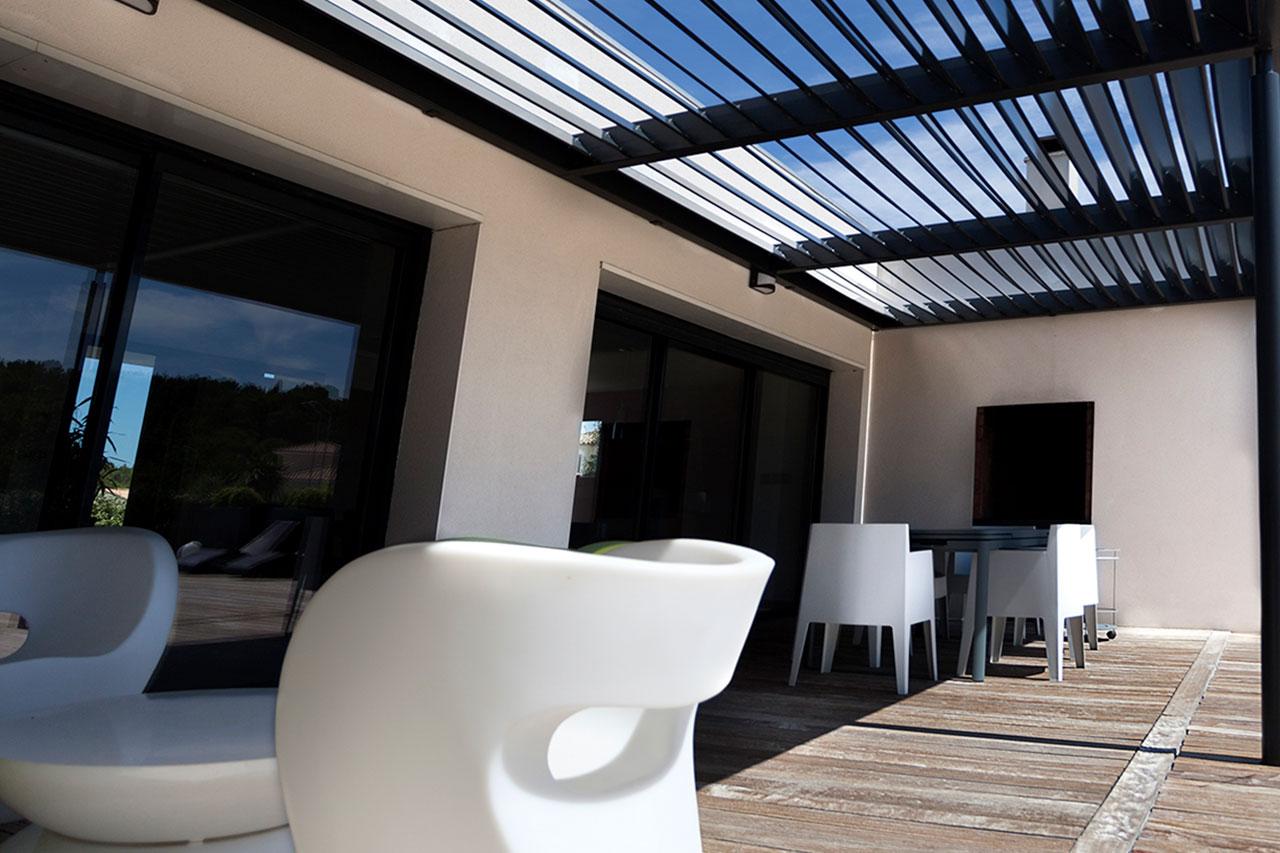 Villa S, réalisation d'une villa moderne à Narbonne (11)